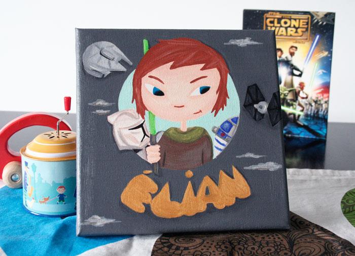 Petit Jedi Elian