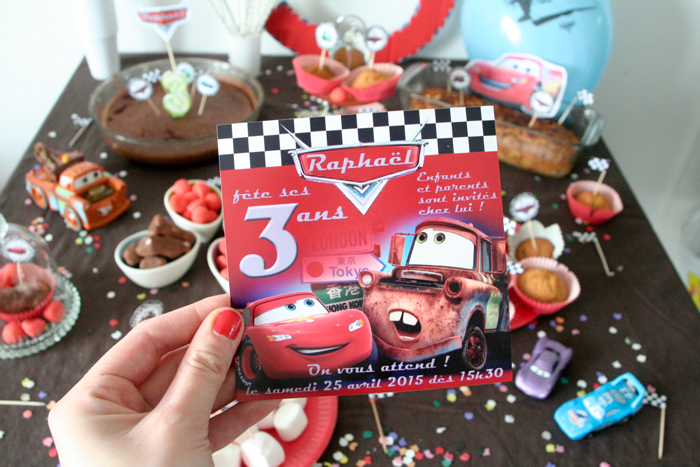 Anniversaire 3 ans sp cial cars le monde de nadoo for Decoration maison automobile