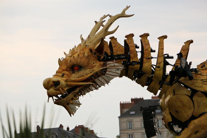 Dragon Long-Ma Machines de L'île