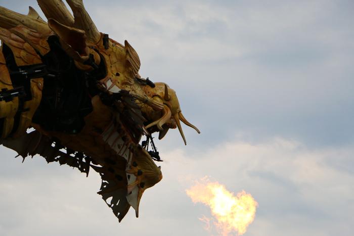 Dragon Long-Ma Machines de L'île