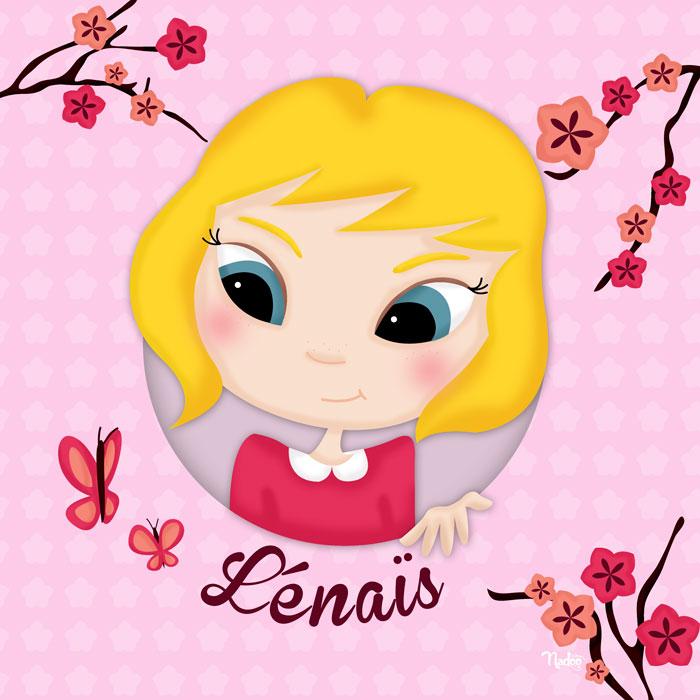 Tableau personnalisé – Lénaïs