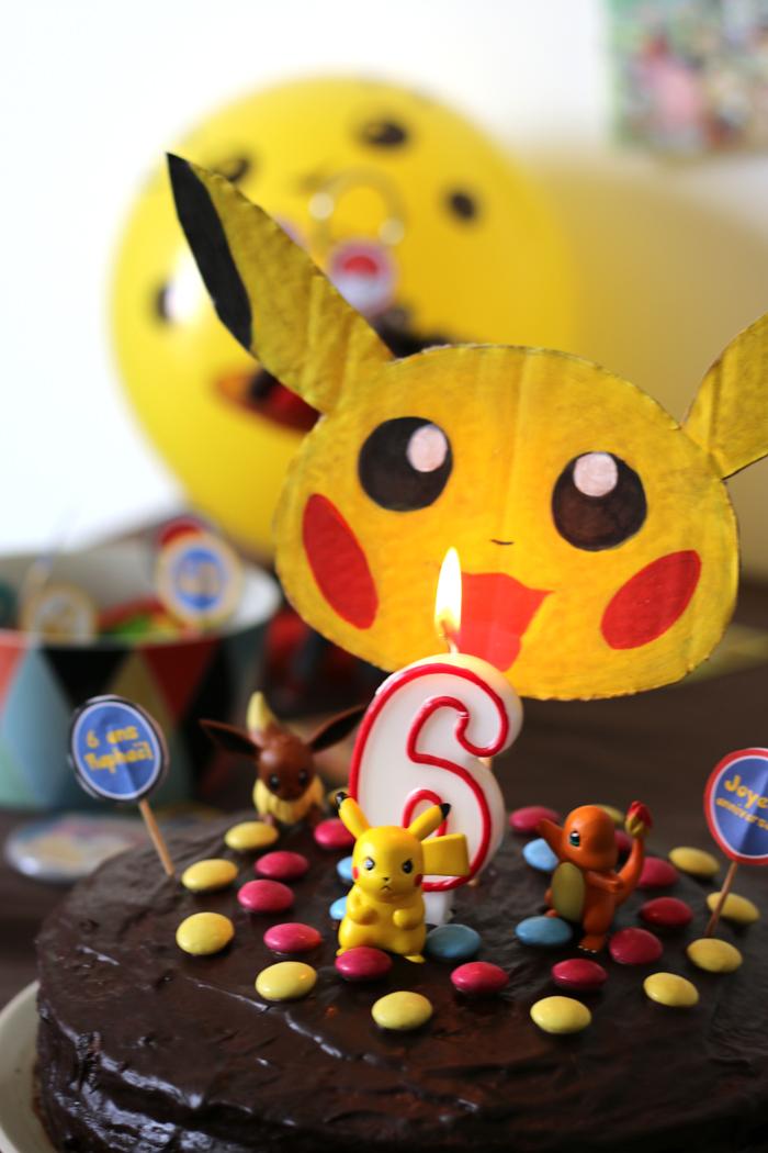 Anniversaire 6 ans- Pokémon
