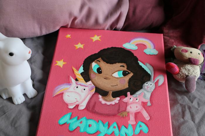 Tableau personnalisé – Madyana