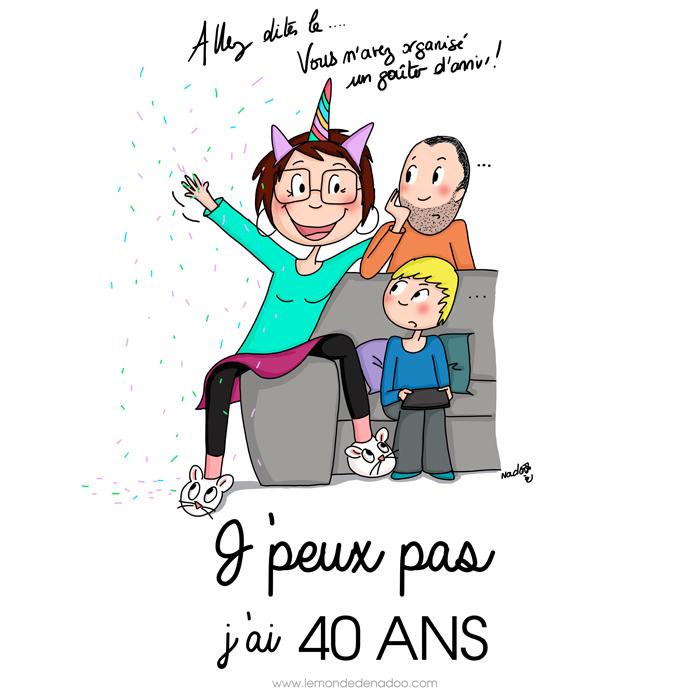 40 ans…