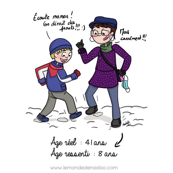 «Pets» de neige